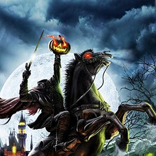 Headless Horseman Ties Mens Halloween Tie Sleepy Hallow Necktie by Three Rooker