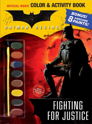 Batman Begins Color Activity Book Fighting For Justice Forlini Victoria 9780696223945 Amazon Com Books