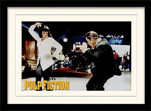 Baile en Jack Rabbit's Slim - Pulp Fiction - Póster con Marco (40 x 30 cm)