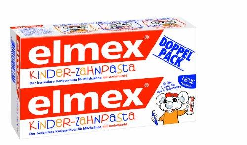 Elmex KINDER-ZAHNPASTA, 4er Doppelpack (8 x 50 ml)