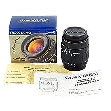Quantaray 28-90mm f/3.5-5.6 aspherical multi-coated lens AF-D lens with Nikon mount