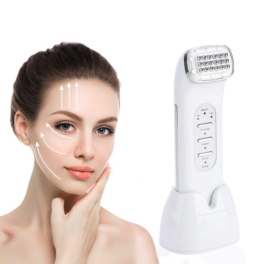 Facial Machine, LED Toning Device Face Lifting Tightening Rejuvenation Wrinkle Removal Skin Beauty Machine