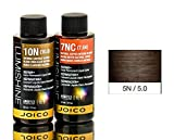 hair color developer 2 oz - Joico Lumishine Demi Permanent Liquid Color - Natural Light Brown - 5N/5.0 - 2 oz
