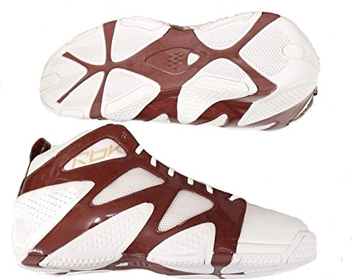 DADA ATR Pump Torch NBA Basketball Shoes White/Brown Size 18.0