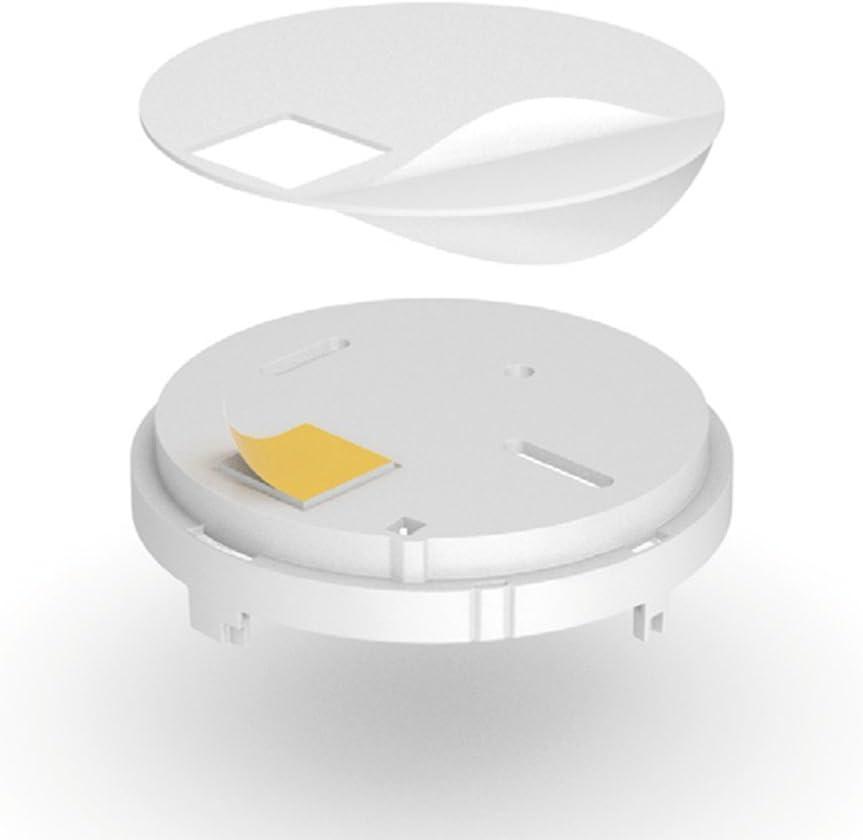 Hekatron Genius H Detector de Humo optimizado con bater/ía integrada 31-5000001-14-01 LED de Alarma de Incendio atenuado por la Noche//Blanco 10/a/ños de Vida /útil Blanco