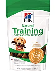 Hill's Natural Soft and Chewy Training Dog Treats with Real Chicken, 3 oz bag