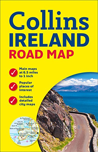 Collins Ireland Road Map ()
