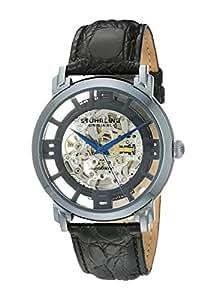 Stuhrling Original Men's 165B.33X56 Classic Winchester Grand Automatic Skeleton Blue Watch