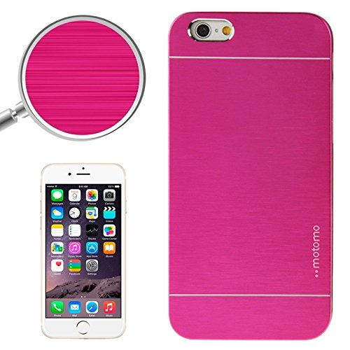 Phone Taschen & Schalen 2 in 1 Brushed Texture Metall & Kunststoff Schutzhülle für iPhone 6 Plus & 6S Plus ( SKU : S-IP6P-0523M )