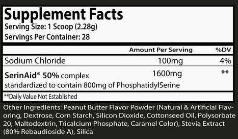 Cortisolve Peanut Butter Flavor