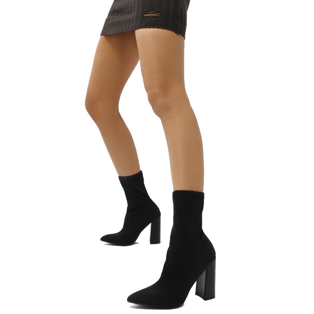 PUBLIC DESIRE DESIRE Libby Femme Boots Femme Noir 15840 Noir a3e3c42 - shopssong.space