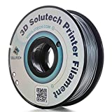 3D Solutech Silver Metal 1.75mm PLA 3D Printer Filament 2.2 LBS (1.0KG) - 100% USA