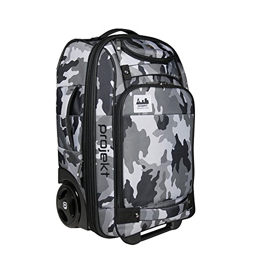Projekt Puddle Jumper - TSA Compliant Luggage - 21 Inch Wheeled Carry-On Suitcase by Projekt