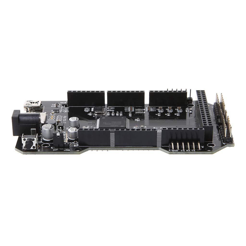 Rhfemd 3D Printer Parts RE-ARM 32-Bit Controller Board Mega 2560 R3 Ramps 1.4 1.5 1.6 Bottom Board Compatible with USB by Rhfemd (Image #7)