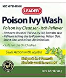 Leader Poison Ivy Wash 6 Fl Oz (177 mL) Per Bottle (6 Bottles)