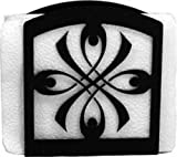 Wrought Iron Bow Napkin Holder