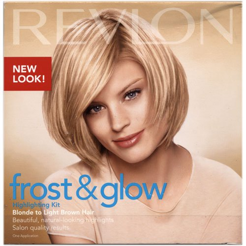 Frost & Glow By Revlon, Highlighting Blonde Kit To Light Brown Hair - 309971565007