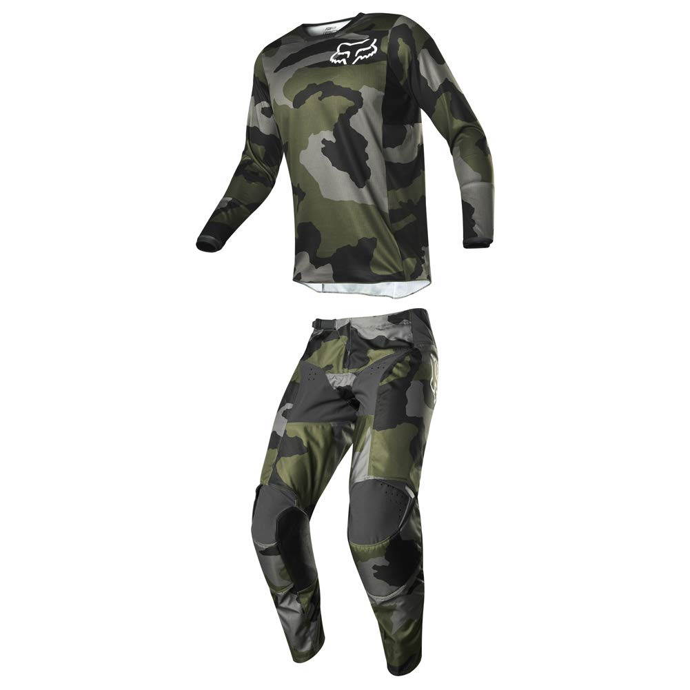 Fox Racing 2019 Men's 180 PRZM Special Edition Camo Jersey Medium and Pants 34 Combo