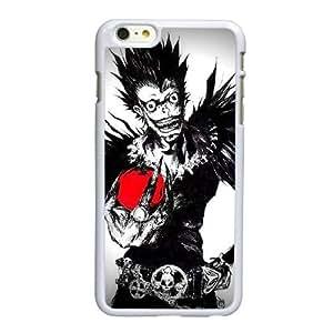 R5G96 Death Note F3T3SF funda iPhone 6 Plus 5.5 pufunda LGadas funda caja del teléfono celular cubren II1OCJ2UU blanco