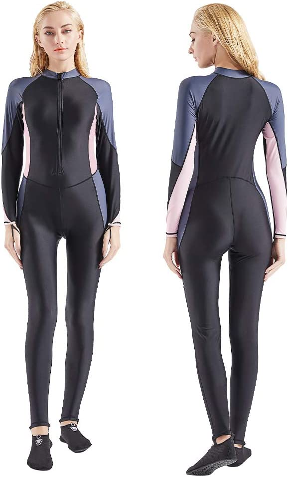 COPOZZ Dive Skin, Diving Snorkeling Surfing Spearfishing Rash Guard-Full Body UV Protection - for Men Women Youth Thin Wetsuit Jellyfish Skin: Sports & Outdoors