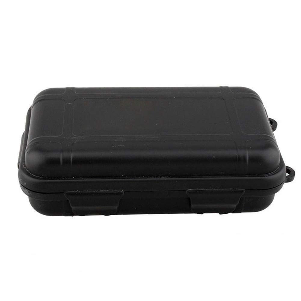 longyitrade Outdoor Tool Storage Box,Tactical Container Shockproof Waterproof Survival Gear Travel Supplies
