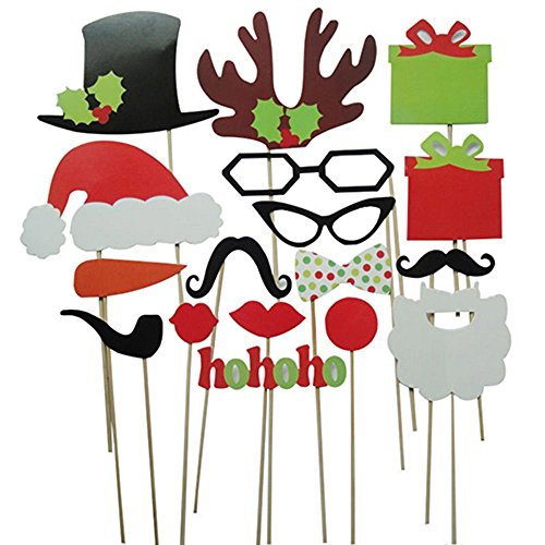 Christmas Colorful Party Wedding Mustache