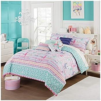 Amazon Com La Llama Kids Comforter Set Full Queen Size