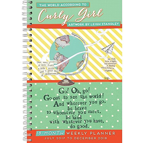 The World According to Curly Girl 2018 Softcover Engagement Planner Calendar