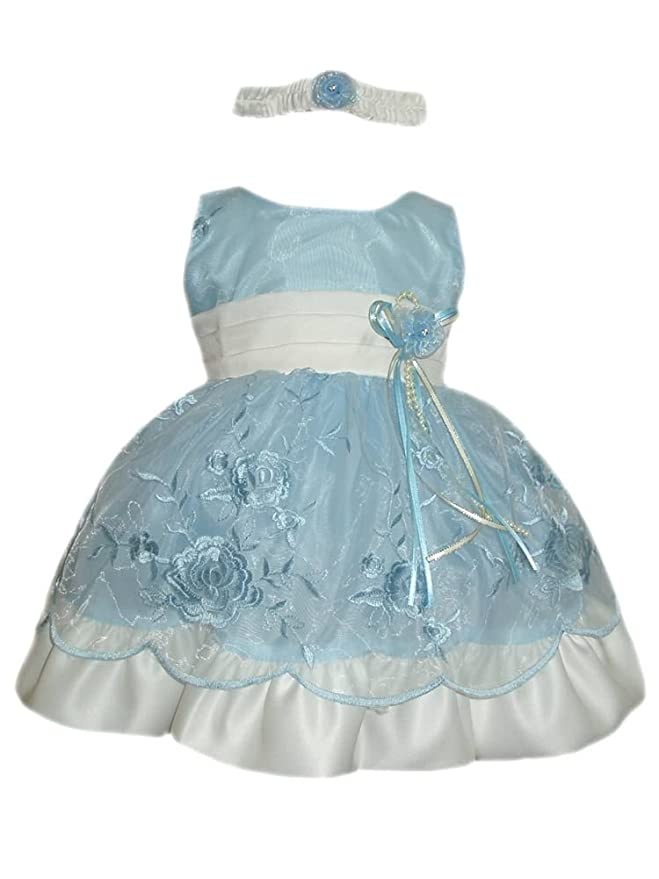 Amazon.com: Baby Girls Easter Dresses (Assorted Colors 3M - 4T) (6M ...