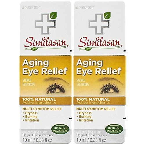 Similasan Aging Eye Relief Eye Drops, 2 Count