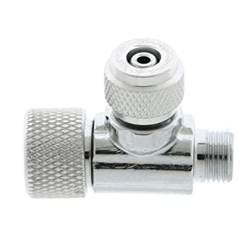 FLAMEER Válvula de Retención CO2 Precisa Regulador Complimentos Pecera Adornos Decoración Ornamento Duradero - 3x3.5cm Sola Cabeza: Amazon.es: Productos ...
