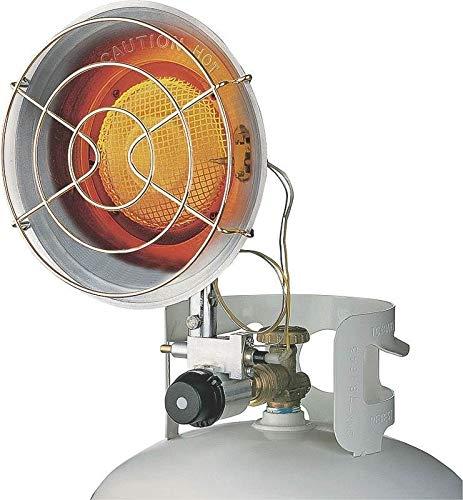 Burners Propane Heater Liquid - DuraHeat TT-15S Single Burner Tank Top Heater 15000 BTU 1000 SqFt Liquid Propane