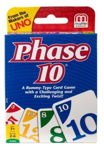 Phase 10 Classic Brand Rummy