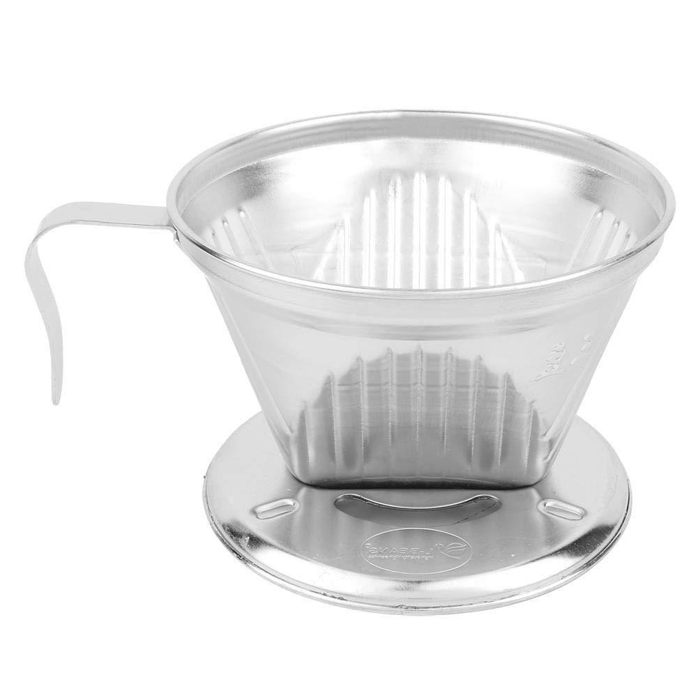 Acquisto Pasamer Filtro caffè Permanente, dripper caffè Cono in Acciaio Inox, Versa sopra caffettiera Prezzi offerta