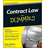 img - for [(Contract Law For Dummies )] [Author: Consumer Dummies] [Dec-2011] book / textbook / text book