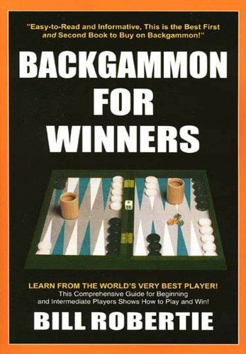 Backgammon For Winners Kindle Edition By Bill Robertie Humor