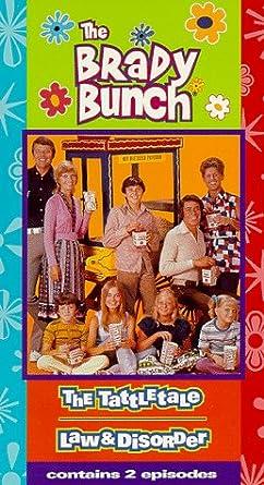Amazon com: Brady Bunch 2 - Tattletale/Law & Disorder [VHS