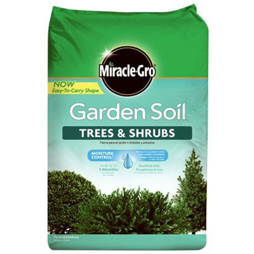 Miracle-Gro 76059430 Garden Soil Tree & Shrub, 1.5 CF ()