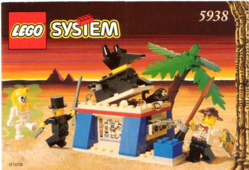 Lego Adventurers Oasis Ambush 5938 0234-100326-3348