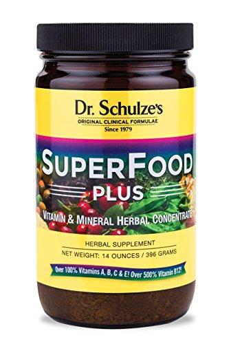 Superfood Плюс Заменитель еды порошок доктора Шульца, 14 унций