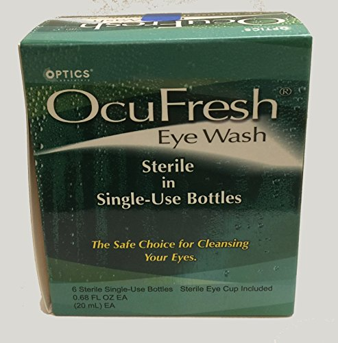 optics laboratory OcuFresh Eye Wash, 0.68fl oz EA