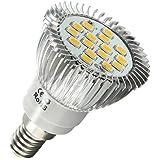 E14 5630 SMD 16 LED AMPOULE LAMPE Lumiere BULB SPOT BLANC 6.5W 120¡ã500LM 220V maison