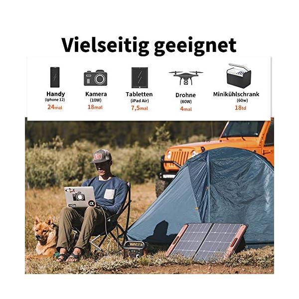 514GaSkt0ZL Jackery Tragbare Powerstation Explorer 240 - Mobiler Stromspeicher & Solar Generator mit 230V Steckdose + USB für Reise…