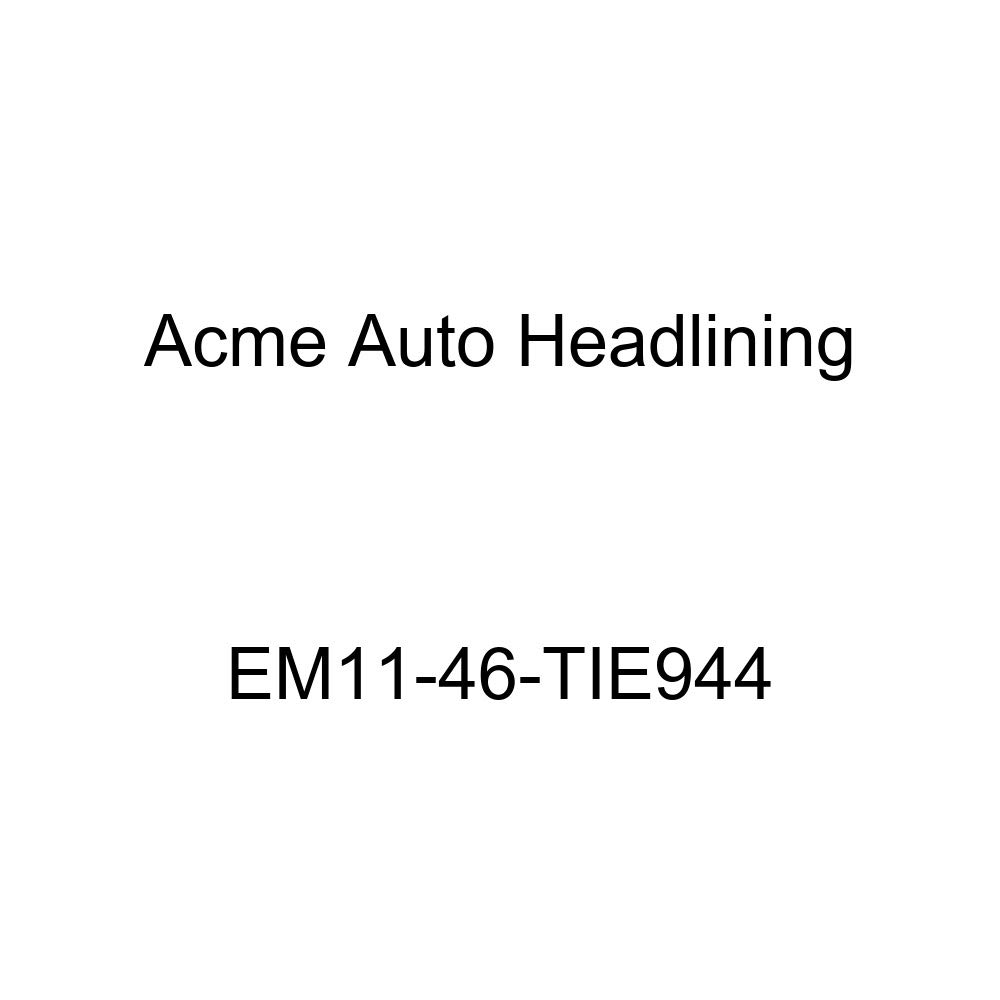 Acme Auto Headlining EM11-46-TIE944 White Replacement Headliner 1934 Buick Series 40, 50, 60 /& 90 Model 34-059 /& 1343, 4 Dr - 7 Bow