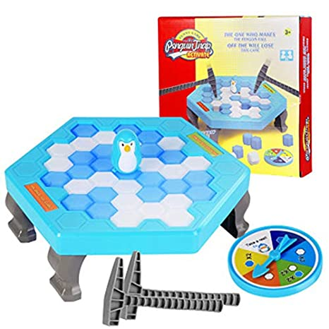 Amazon Com Mingxiao Pequeno Pinguino Trampa Bloque Toys Ice Breaker