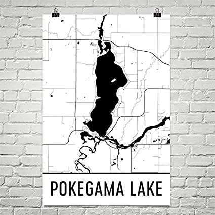 Amazoncom Pokegama Lake Minnesota Pokegama Lake MN Pokegama Lake - Pokegama lake map