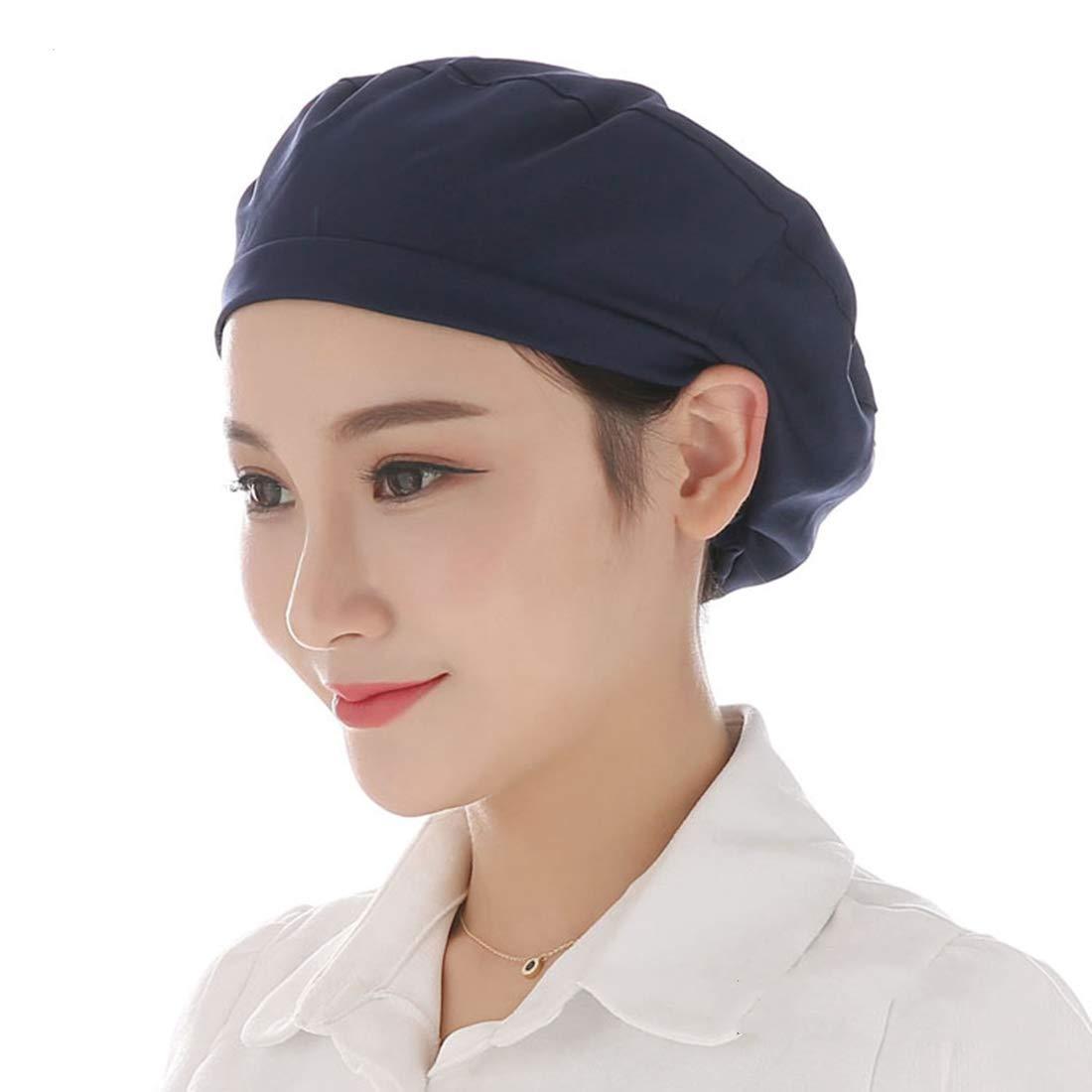Xianheng Gorro de Trabajo para Mujer Sombrero de Cocinero ...