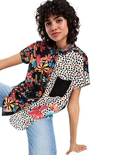19swcw94 Desigual Donna Camicia Desigual 19swcw94 Multicolor qBvzwS