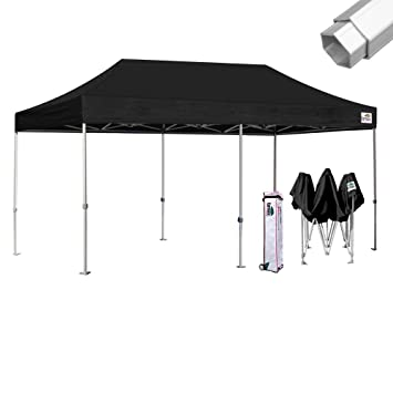 Eurmax Professional 10x20 Ez Pop Up Canopy Wedding Party Tent Instant Outdoor Gazebo Aluminum Frame Commercial