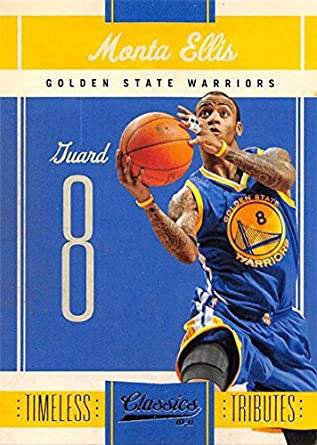 6eac1b558 Basketball NBA 10-11 Panini Classics Timeless Tributes  28 Monta Ellis NM  54